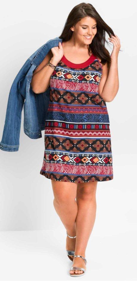 4e6be3fc5d0 Robes pour femmes grandes tailles à petit prix bonprix