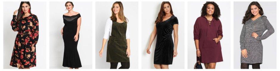 Robes pour femmes grandes tailles à petit prix bonprix 007bb8cc244