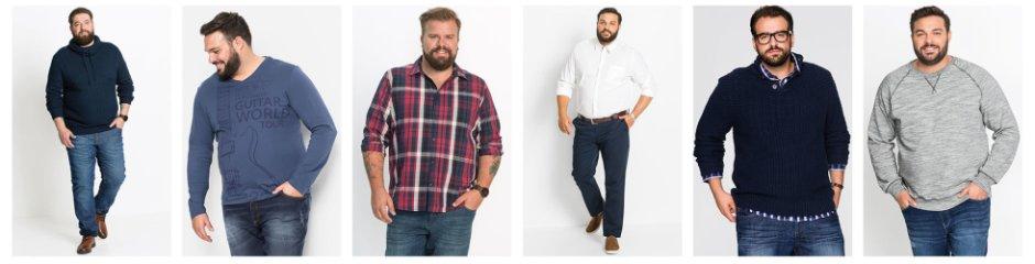 Grandes tailles pour hommes sur bonprix.fr - Simple et stylé! 777e4633f81