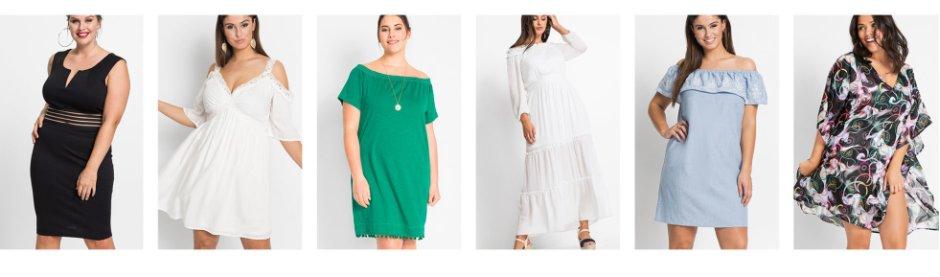 cba579d8c0e1fc Robes pour femmes grandes tailles à petit prix bonprix