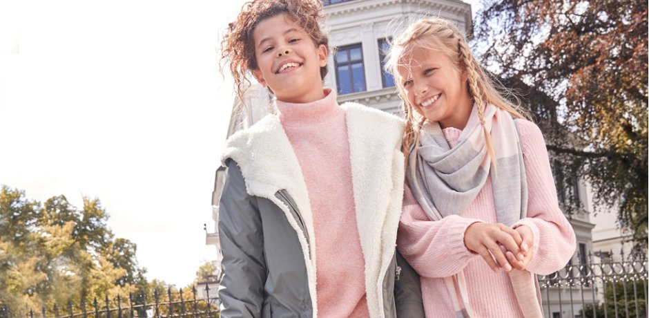 Enfant 92-182 - Tendances & occasions - Tendances  - Rose Shades & Knit