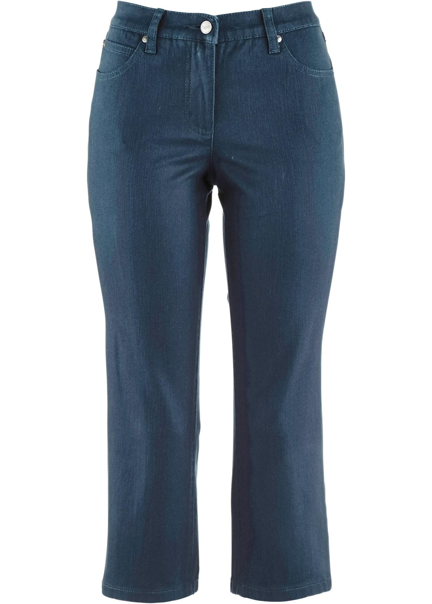 Pantalon extensible 3/4 en twill structuré