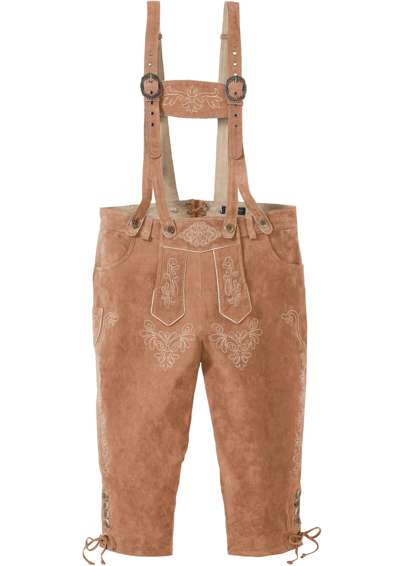 Culotte courte bavaroise longueur sous genou Regular Fit