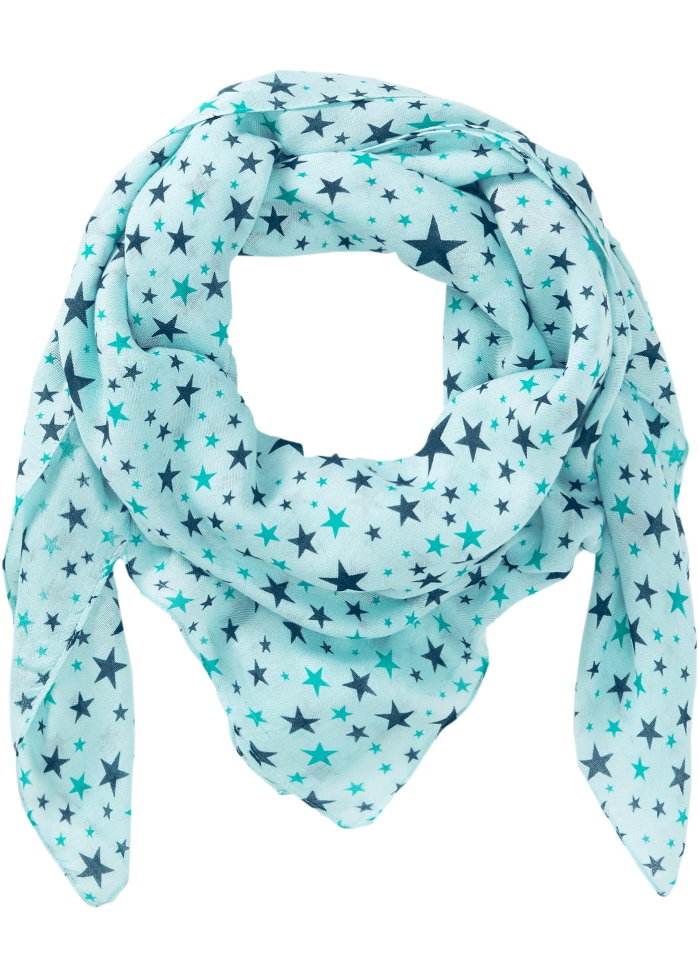 Foulard à imprimé étoiles