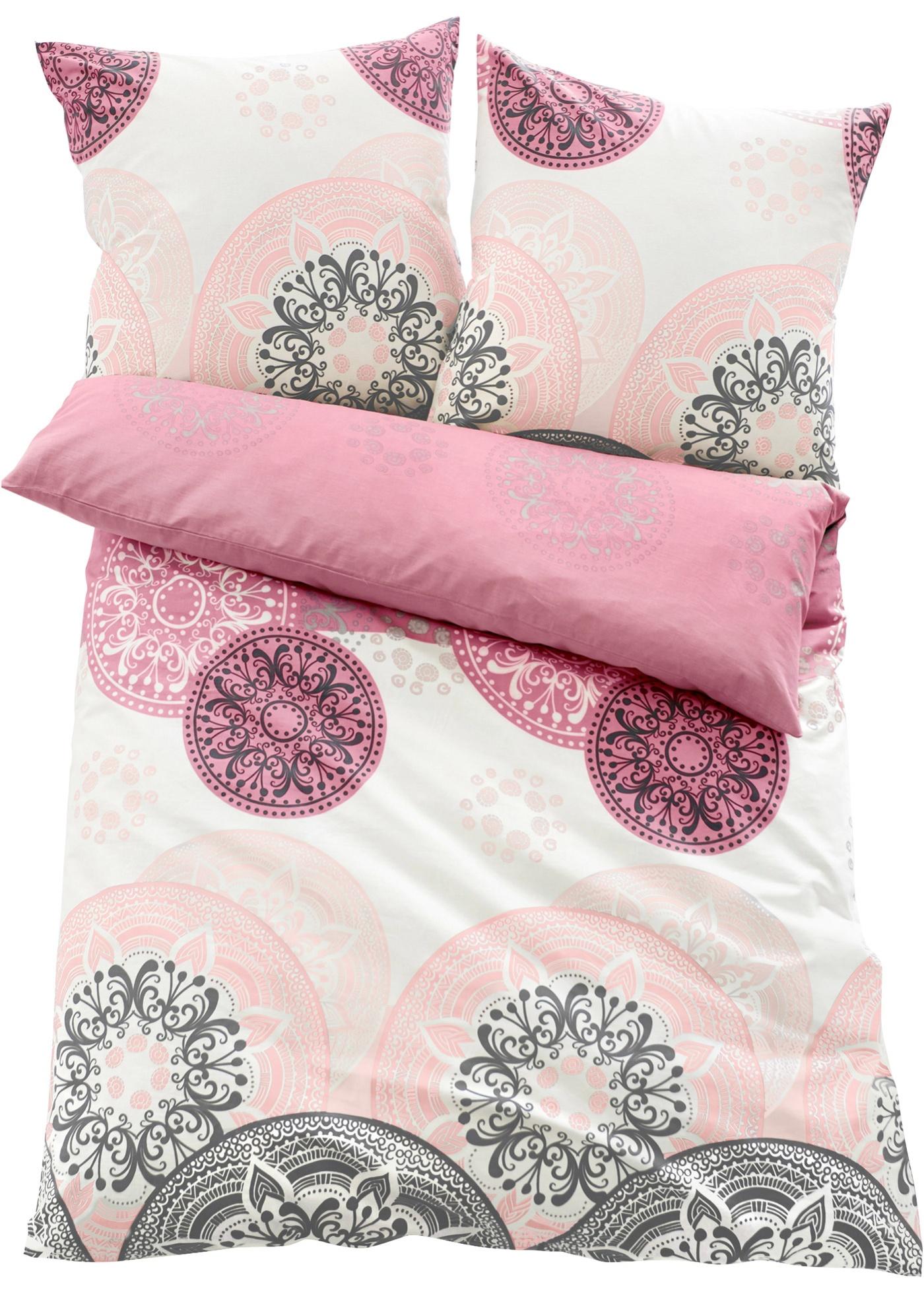 Parure de lit à motif ornement