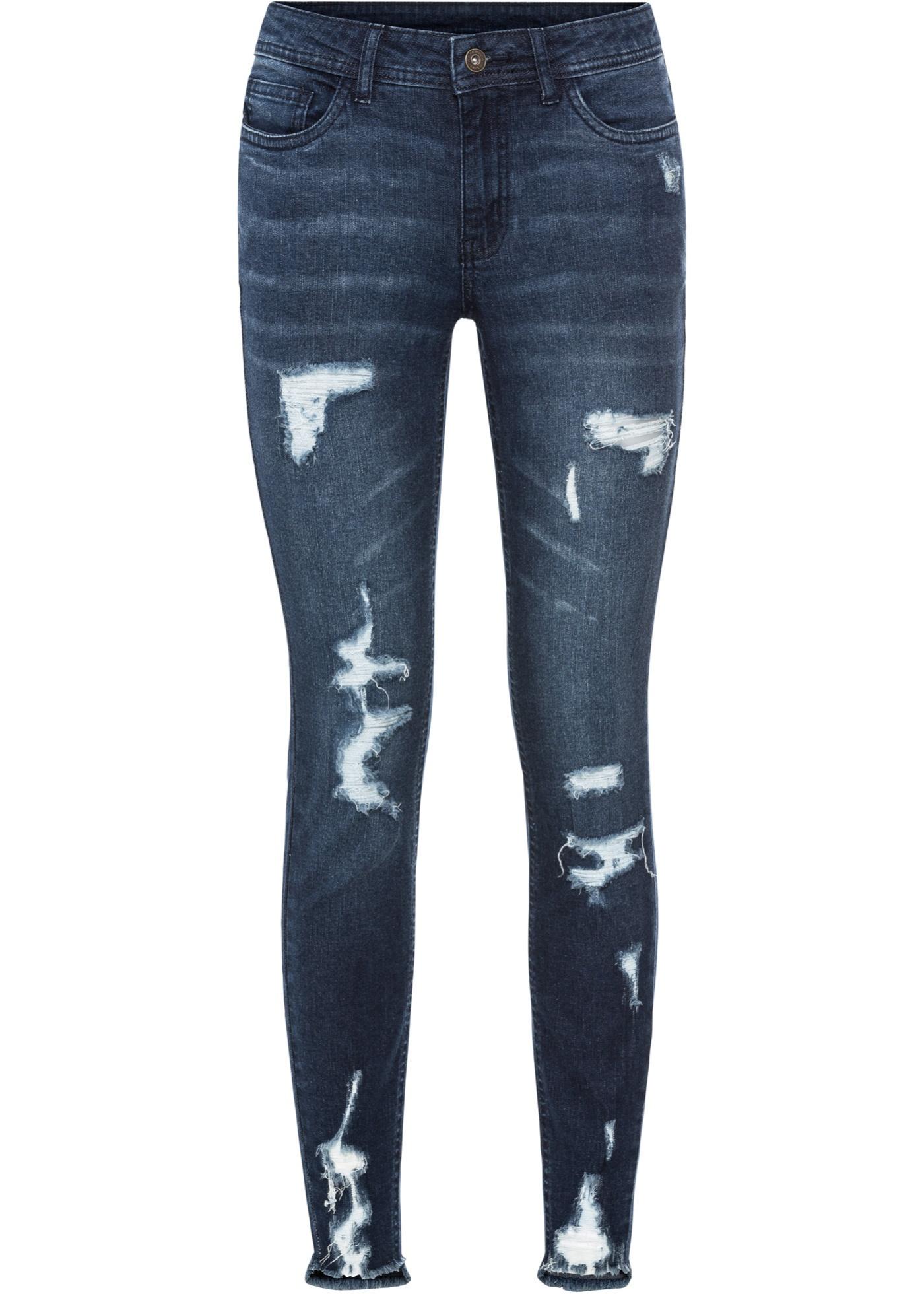 Jean super skinny destroyed