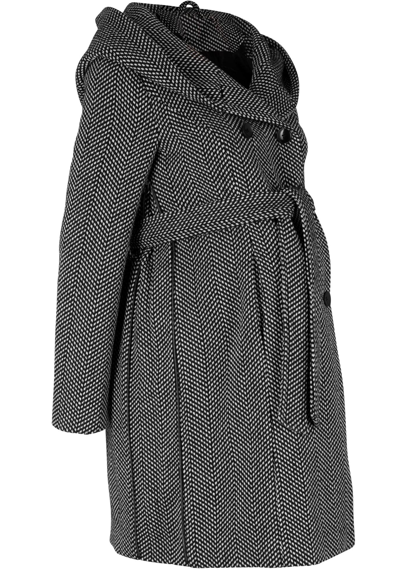 Manteau de grossesse à teneur en laine