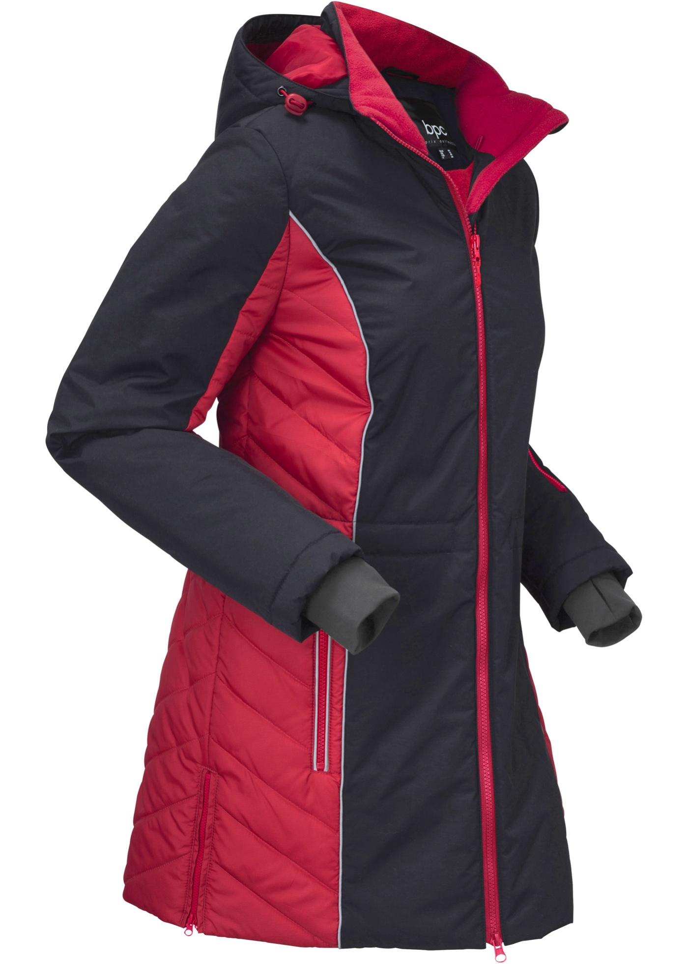 Veste outdoor fonctionnelle avec détails réfléchissants