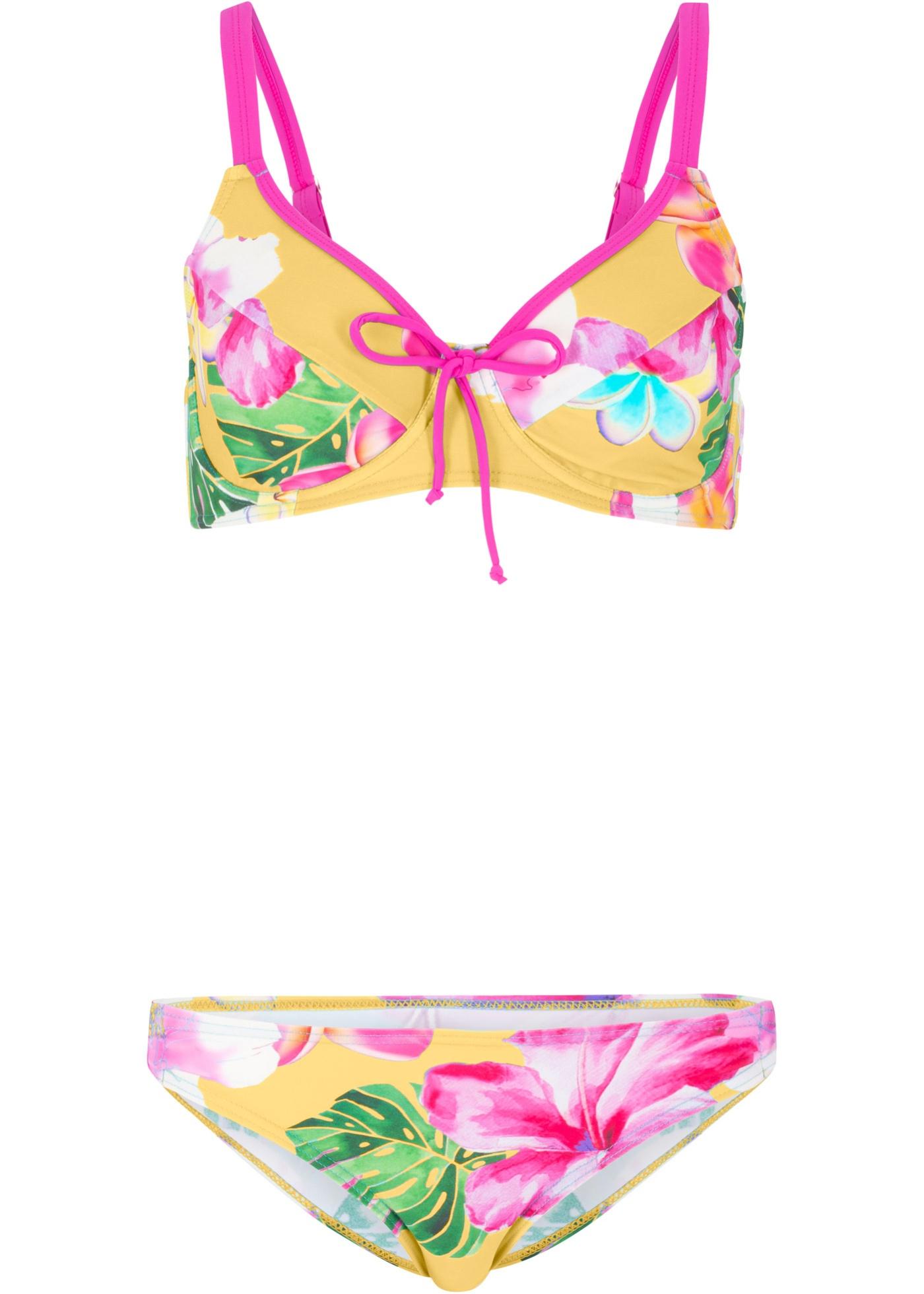Bikini minimiseur à armatures (Ens. 2 pces.)