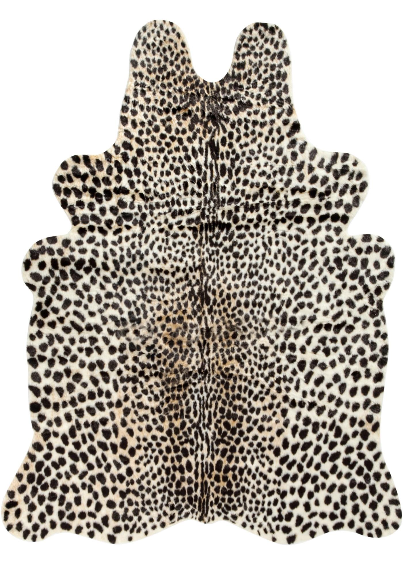 Peau de léopard synthétique