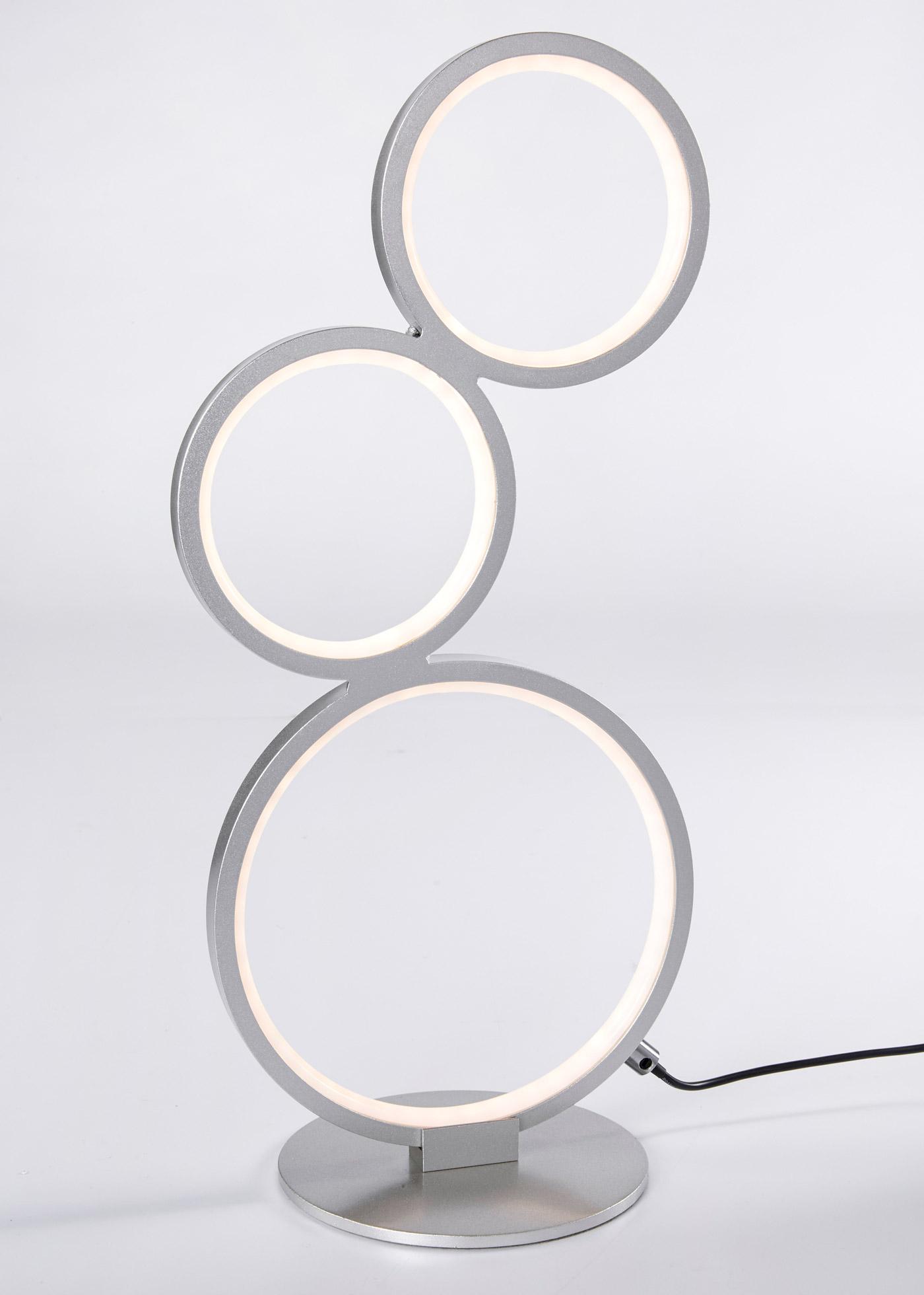 Lampe de table LED Cercles