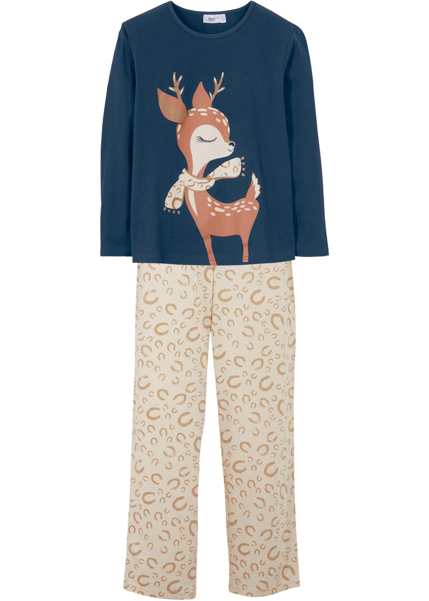 Pyjama enfant (Ens. 2 pces.), coton bio