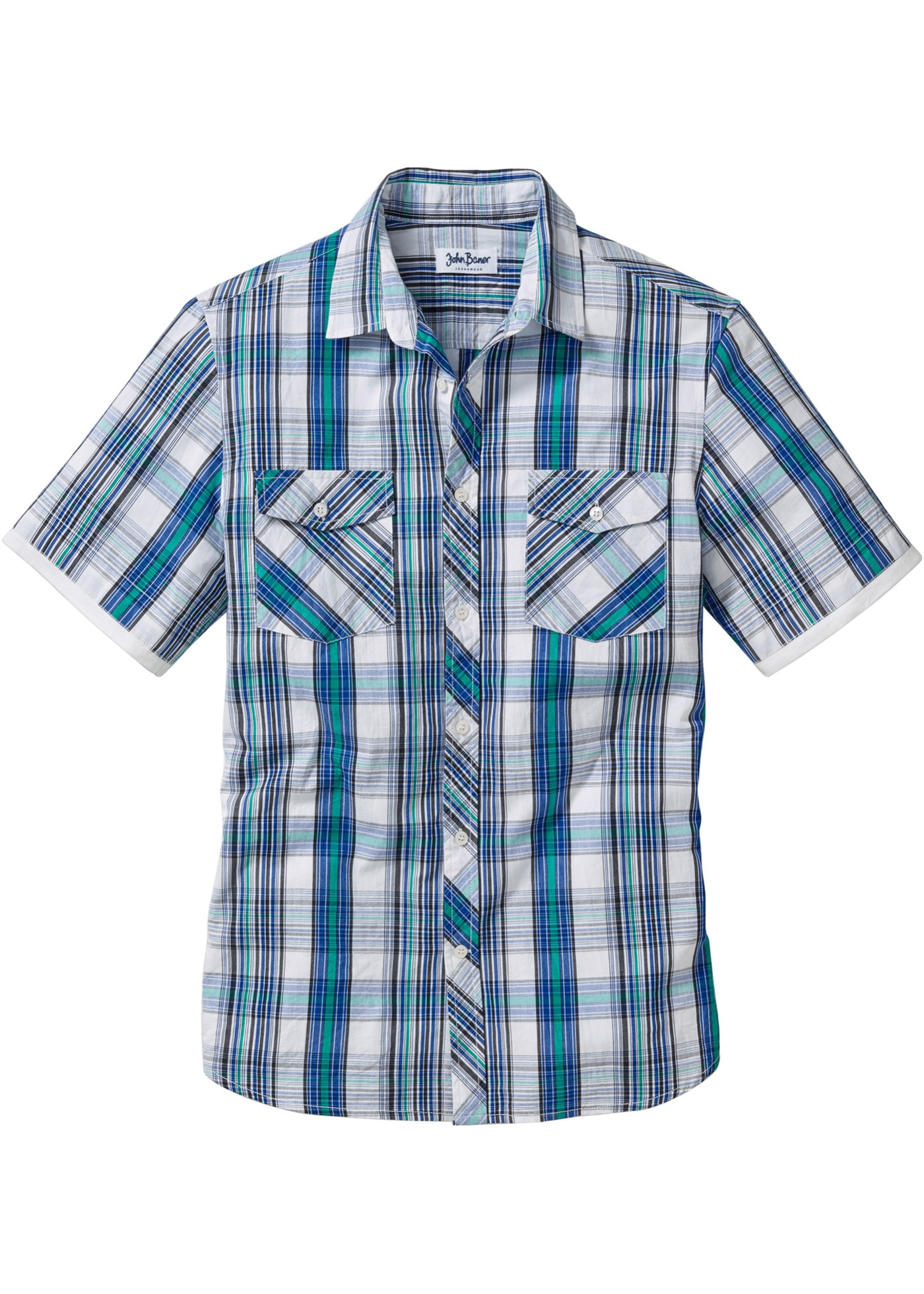 Chemise manches courtes regular fit