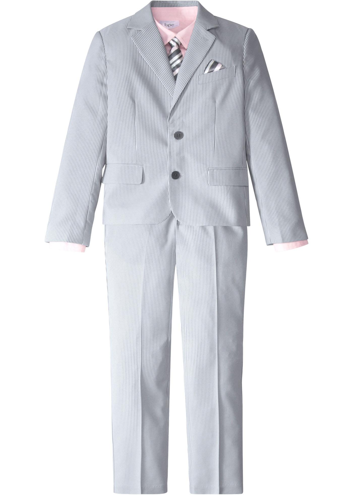 Costume + chemise + cravate (Ens. 4 pces.)