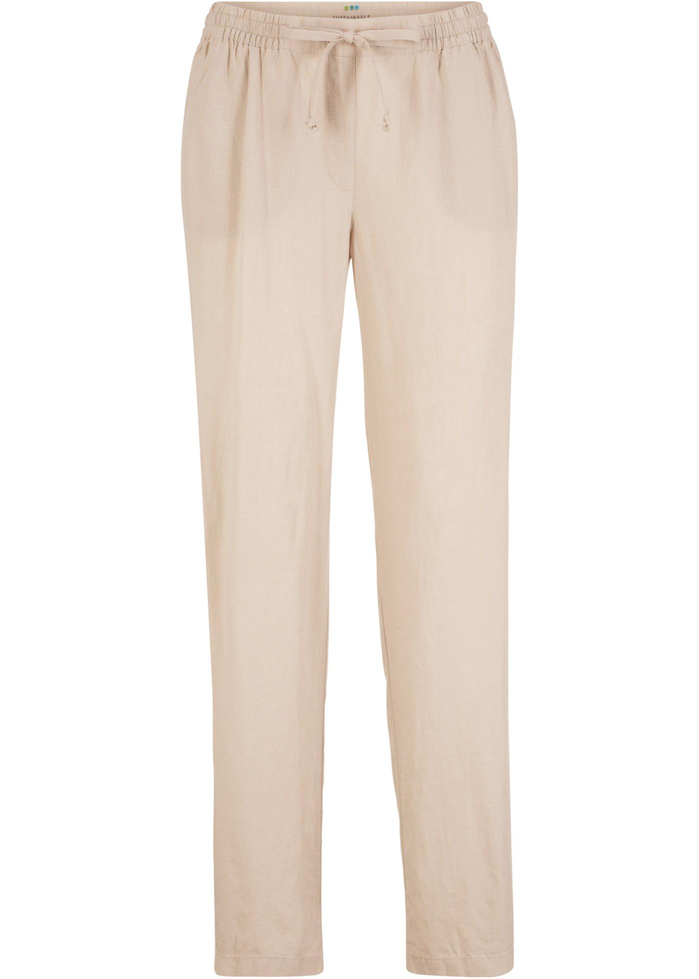 Pantalon éco responsable en lyocell-lin