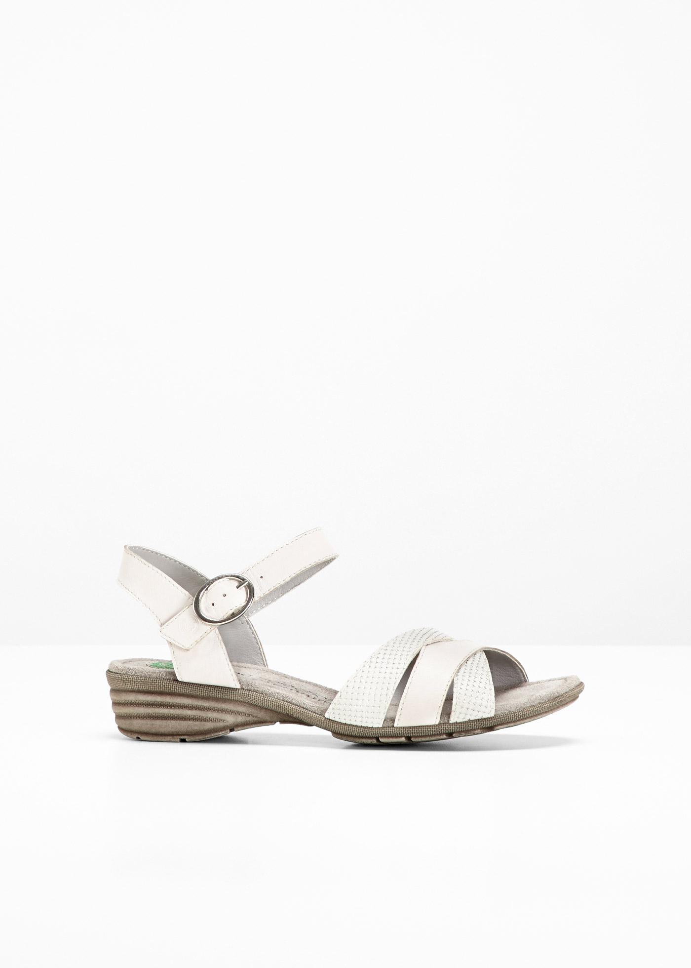 Sandales en cuir confortables