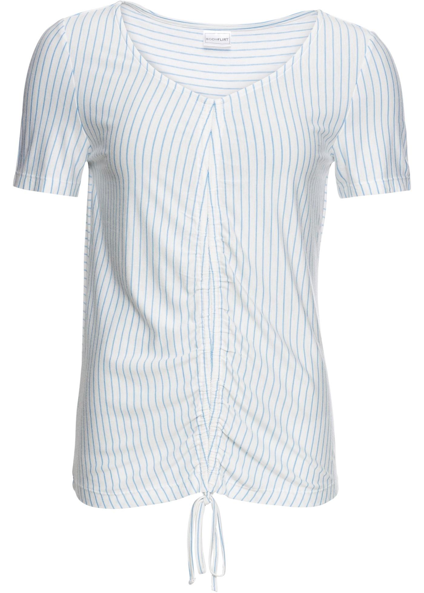 T-shirt à fronces