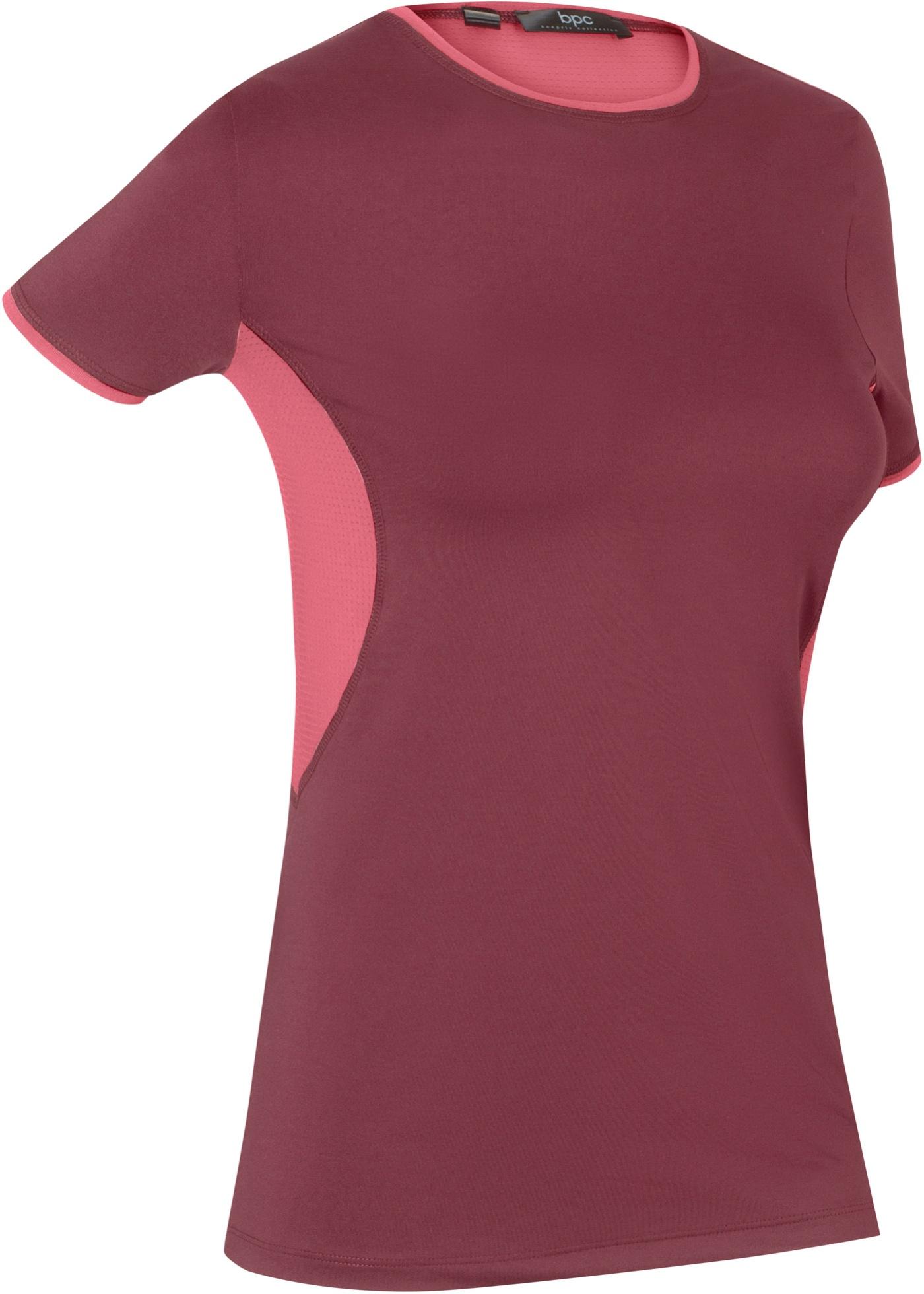 T-shirt de sport avec mesh, manches courtes