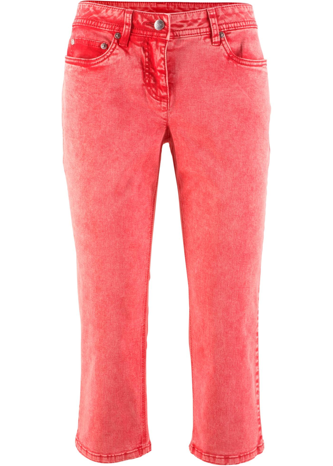 Pantalon extensible 3/4 avec lycra