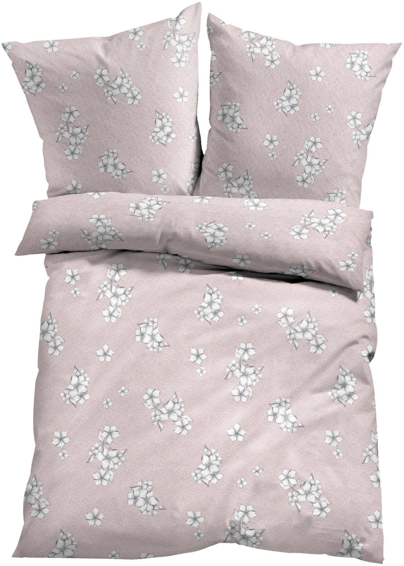 Parure de lit à motif floral