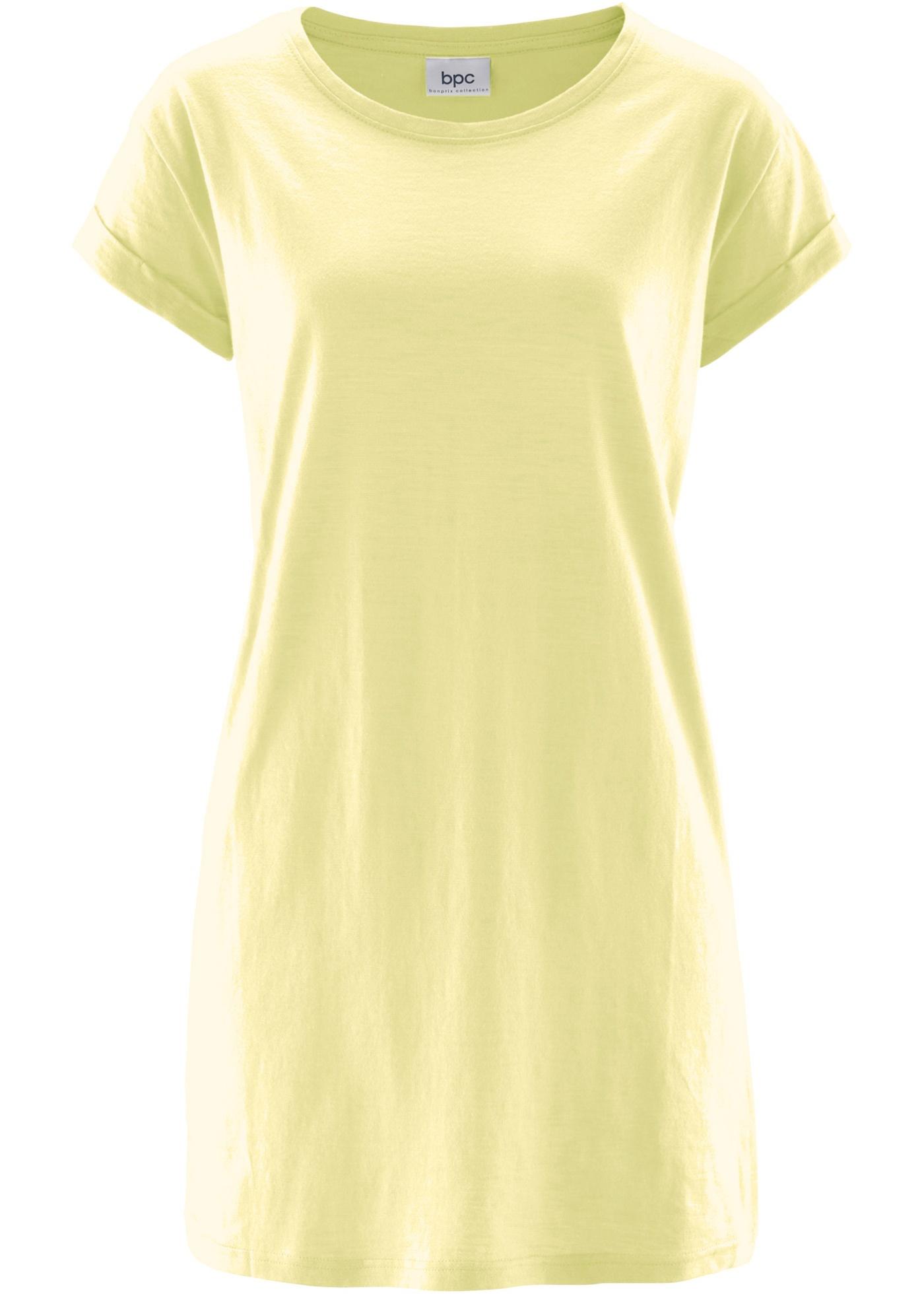 T-shirt long boxy à manches courtes