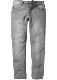 Jean Slim Fit Straight, RAINBOW, light gris denim