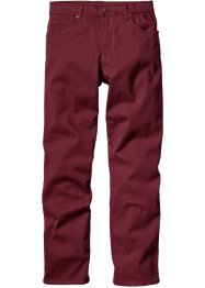 Pantalon extensible slim fit droit, bpc bonprix collection, bordeaux