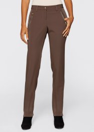 Pantalon extensible, bpc selection, marron clair