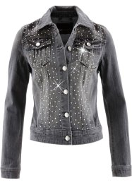 Veste en jean, bpc selection, gris denim