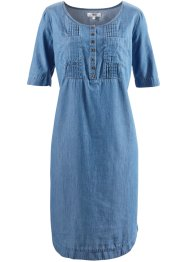 Robe en jean, demi-manches, bpc bonprix collection