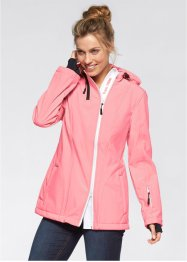 Veste softshell, bpc bonprix collection, saumon fluo