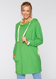 Sweat-shirt long manches longues, bpc bonprix collection, vert gazon