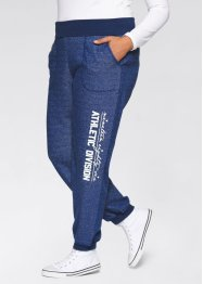 Pantalon sweat avec revers à la taille, bpc bonprix collection