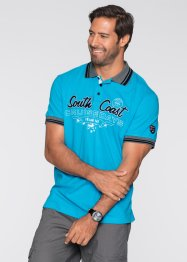 Polo Regular Fit, bpc bonprix collection, bleu foncé