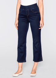 Jean confort super stretch 7/8, bpc bonprix collection, foncé denim