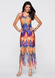 Robe longue, BODYFLIRT boutique, orange/fuchsia multi