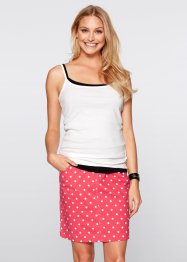 Lot de 3 tops, bpc bonprix collection, fraise+noir+blanc