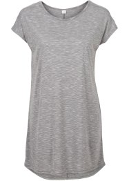 T-shirt long, RAINBOW, gris multicolore