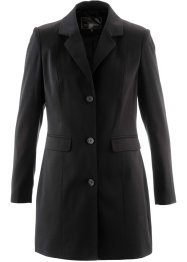 Blazer long, bpc selection, noir