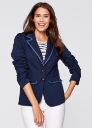 Blazer sweat manches longues, bpc bonprix collection