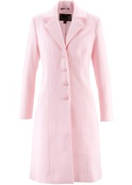 Manteau style blazer aspect laine, bpc selection, rose clair