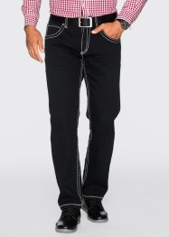 Pantalon extensible 5 poches Regular Fit Straight, bpc selection