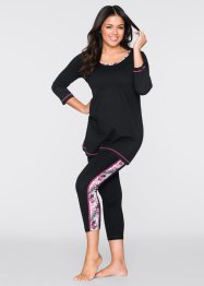 Pyjama avec legging 7/8, bpc bonprix collection