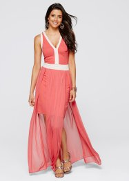 Robe, BODYFLIRT boutique, corail/beige