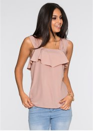 Top-blouse à volant, BODYFLIRT