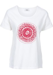T-shirt de relaxation, bpc bonprix collection, blanc cassé