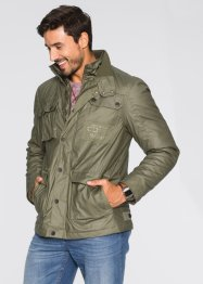 Parka militaire enduite Regular Fit, bpc bonprix collection