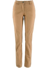 Pantalon extensible push-up, étroit, bpc bonprix collection, café glacé