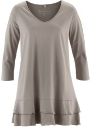 T-shirt long, bpc selection, taupe