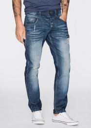 Jean Loose Fit Tapered, RAINBOW, bleu stone used